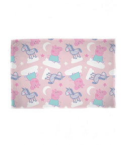 Peppa Pig Throw Size Fleece Blanket (SUPER SOFT)