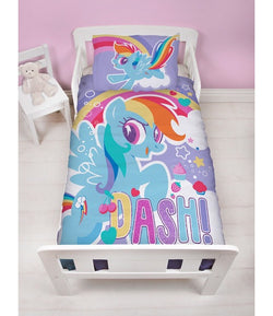 MY LITTLE PONY - Toddler Bed/Cot Quilt Cover Set