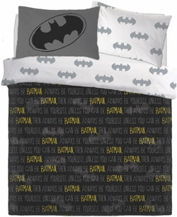 Batman Double to Queen Quilt Cover Set