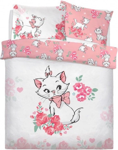 Aristocats Marie Double to Queen Quilt Cover Set POLYESTER