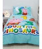 GEORGE PIG COUNTING - Toddler Bed/Cot/Junior Quilt Cover Set