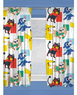 PRE ORDER  Pokemon Curtains 54 inch drop