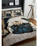 PRE ORDER Pug Single Size Quilt Cover Set