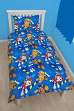 "Paw Patrol Rescue ""Reversible"" Single Quilt Cover Set POLYESTER"