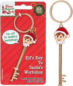 Elf's key to Santa's workshop Christmas