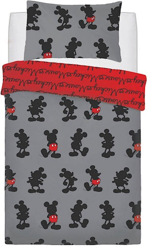 Mickey Mouse Single Quilt Cover Set