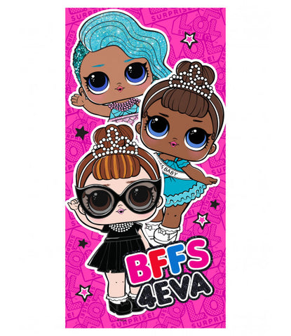 LOL Surprise Dolls BFF Licensed Towel