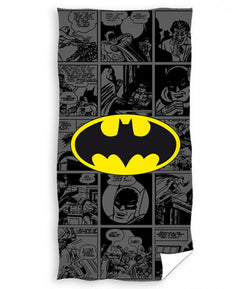 Batman Comics Licensed Towel