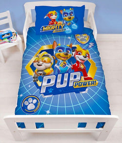Paw Patrol - Toddler Bed/Cot Quilt Cover Set