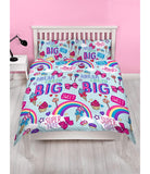 Double to queen Quilt Cover Set - JOJO Siwa