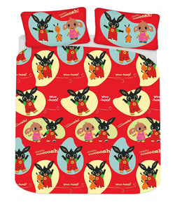 Bing Bunny Double to Queen Quilt Cover Set