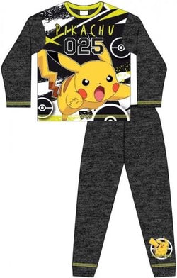 Pokemon Pikachu Winter Pjs Pyjama