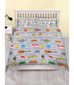 PRE ORDER Friends Double to Queen Quilt Cover Set