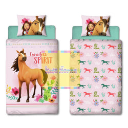 Spirit Reversible Single Quilt Cover Set