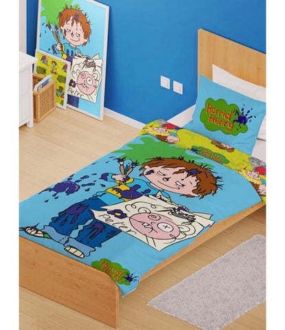 Horrid Henry Single Quilt Cover Set
