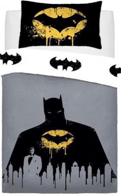 Batman Single Quilt Cover Set