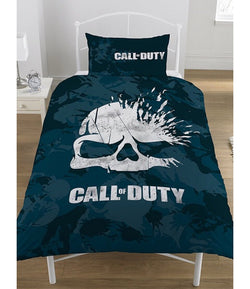 Call of duty skull Single Quilt Cover Set