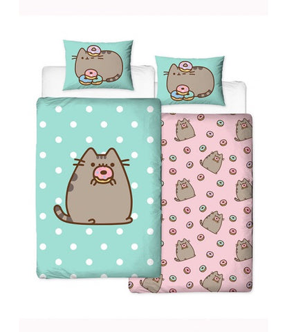 Pusheen cat Single Quilt Cover Set