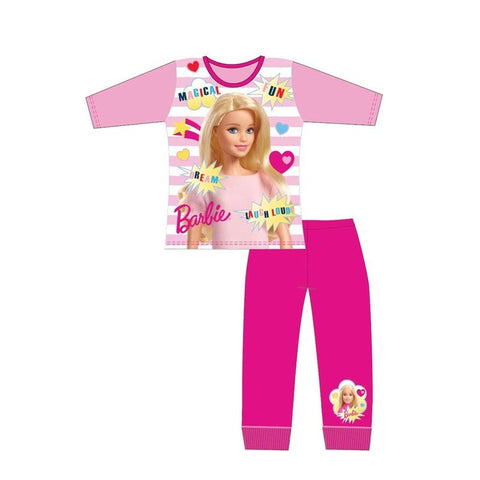 Barbie Winter Pjs Pyjama 3/4 left