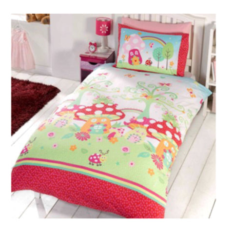 Fairy Garden Single Quilt Cover Set