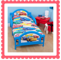 CARS - Toddler Bed/Cot Quilt Cover Set
