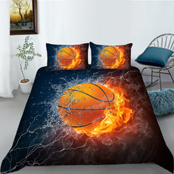 Basketball Quilt Cover Set