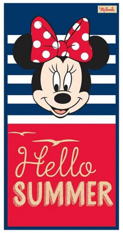 Minnie Mouse Licensed Towel