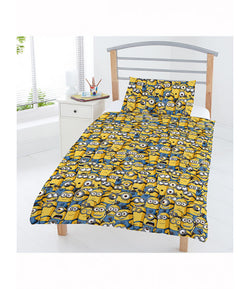 MINION - Toddler Bed/Cot Quilt Cover Set