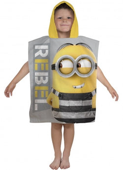Hooded towel MINION