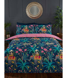 Jungle Expedition Elephant King Size Quilt Cover Set