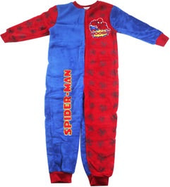 Spiderman Winter Onesie SIZE 3/4 LEFT