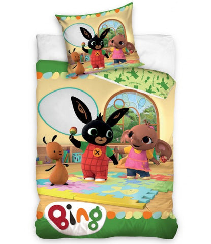 PRE ORDER Bing Bunny Cotton Single quilt cover set EU Case