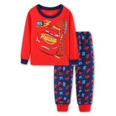 Winter pjs - cars (skinny waisted)