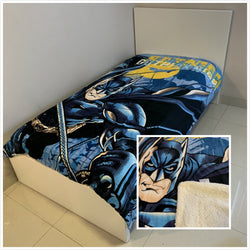 Batman Single-King Single  Faux Mink Blanket wool lined