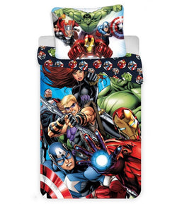 Marvel Avengers Cotton Single Quilt Cover Set EURO Case