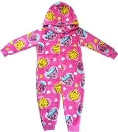 Shopkins Winter Onesie with hood