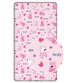 PEPPA PIG Single fitted sheet ONLY