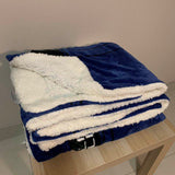 Dr who queen faux mink blanket - wool backed