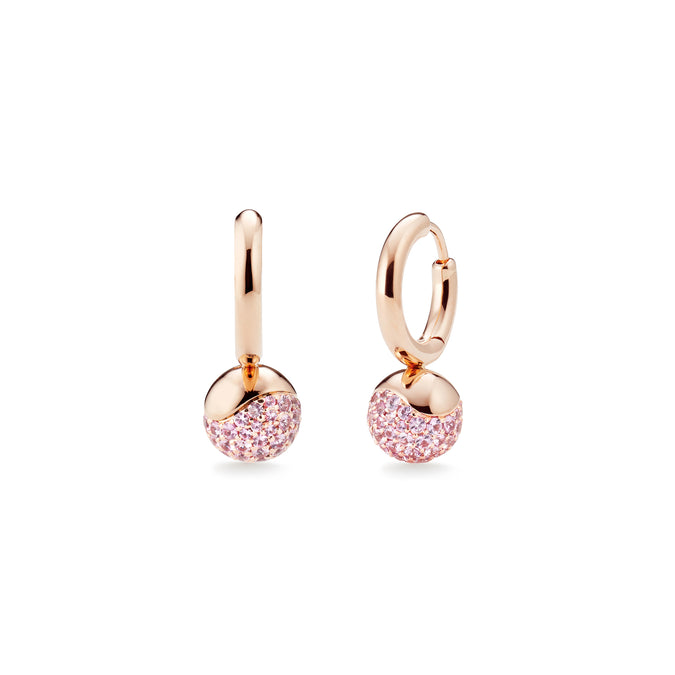 AURA Pavé Huggie Earrings