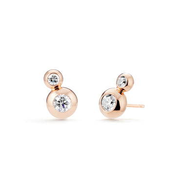 STELLAR Double Star Earrings