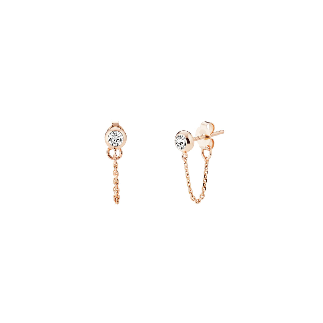 STELLAR Drop Chain Earrings