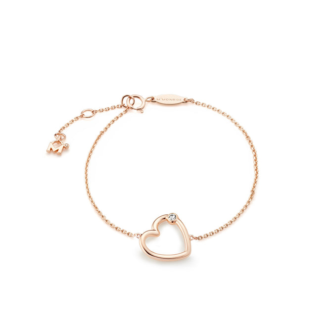 WHISPER HEART Chain Bracelet