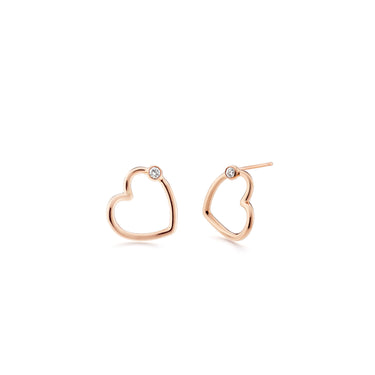 WHISPER HEART Mini Studs