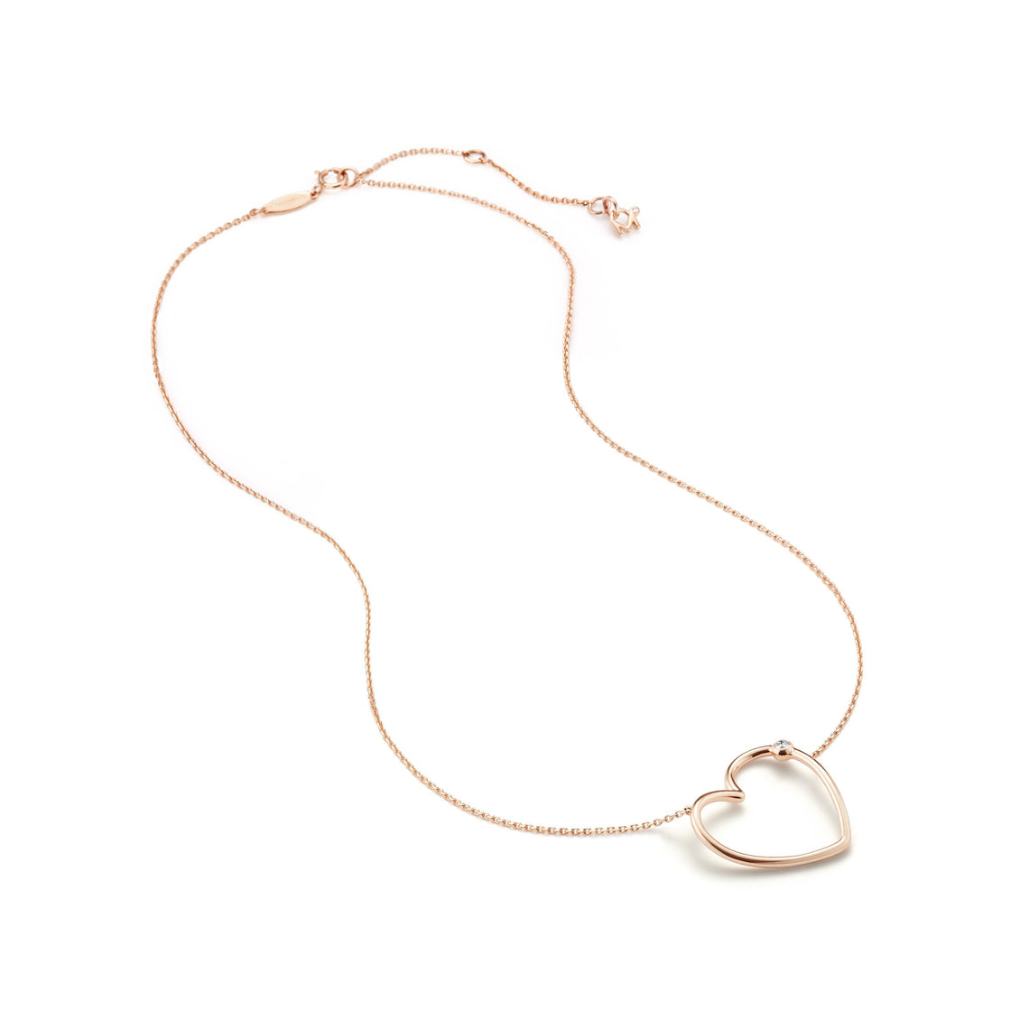 WHISPER HEART Small Necklace