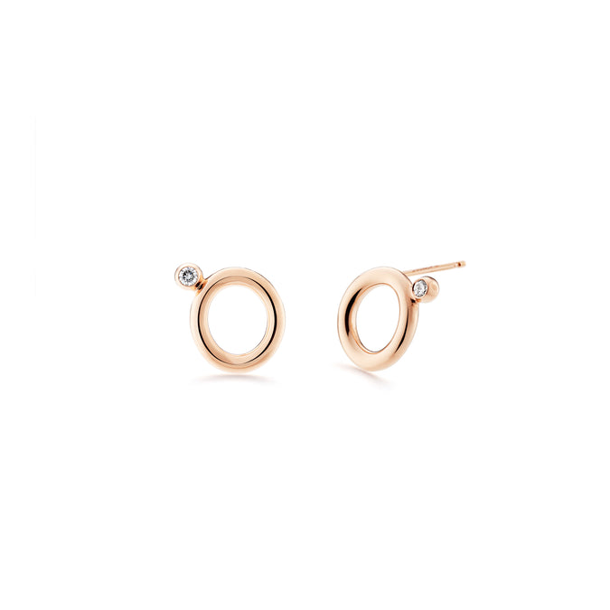 WHISPER Mini Oval Studs