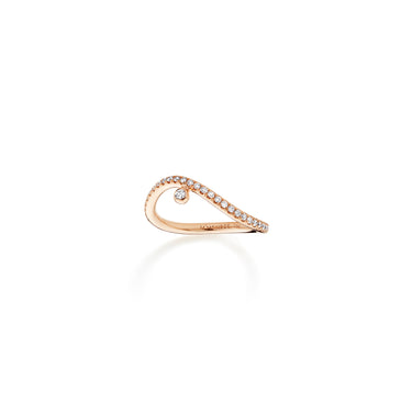 WHISPER Pavé Pinky Ring