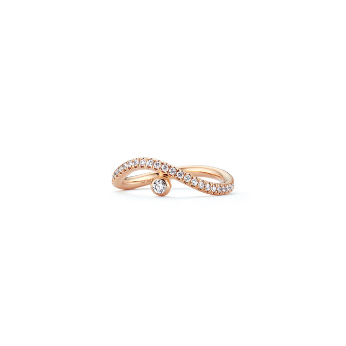 WHISPER Pavé Stacking Ring