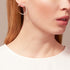 WHISPER Small Pavé Wave Earrings