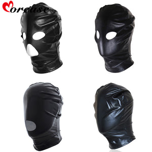 Morease Leather Mask BDSM | Peekaboo