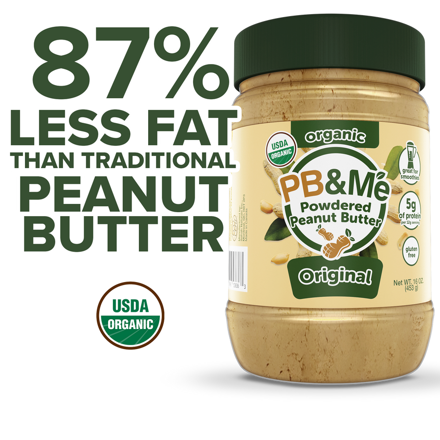 Organic Powdered Peanut Butter, Original (16oz)